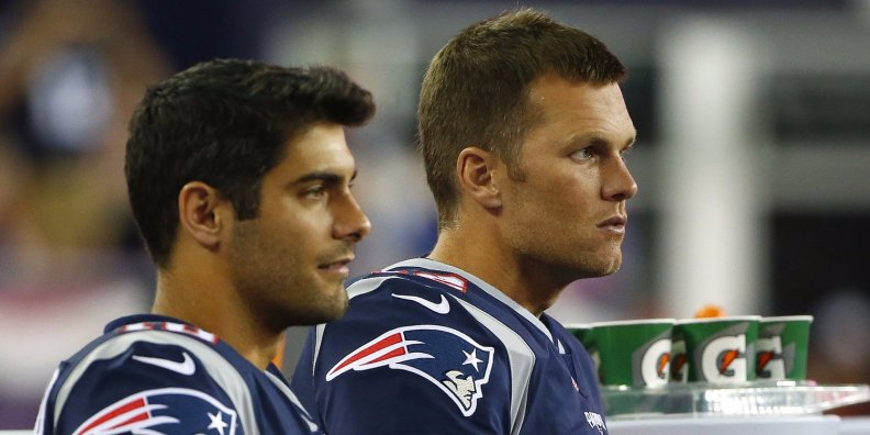 jimmy garoppolo tom brady