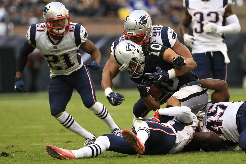 New England Patriots v Oakland Raiders