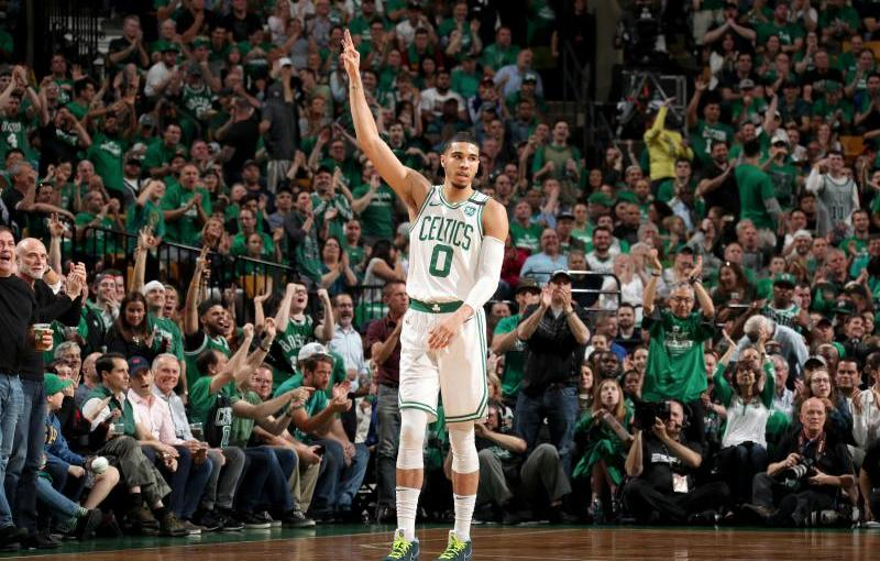 Tatum and the C's dominate the Cavs to take 3-2 lead in theECF