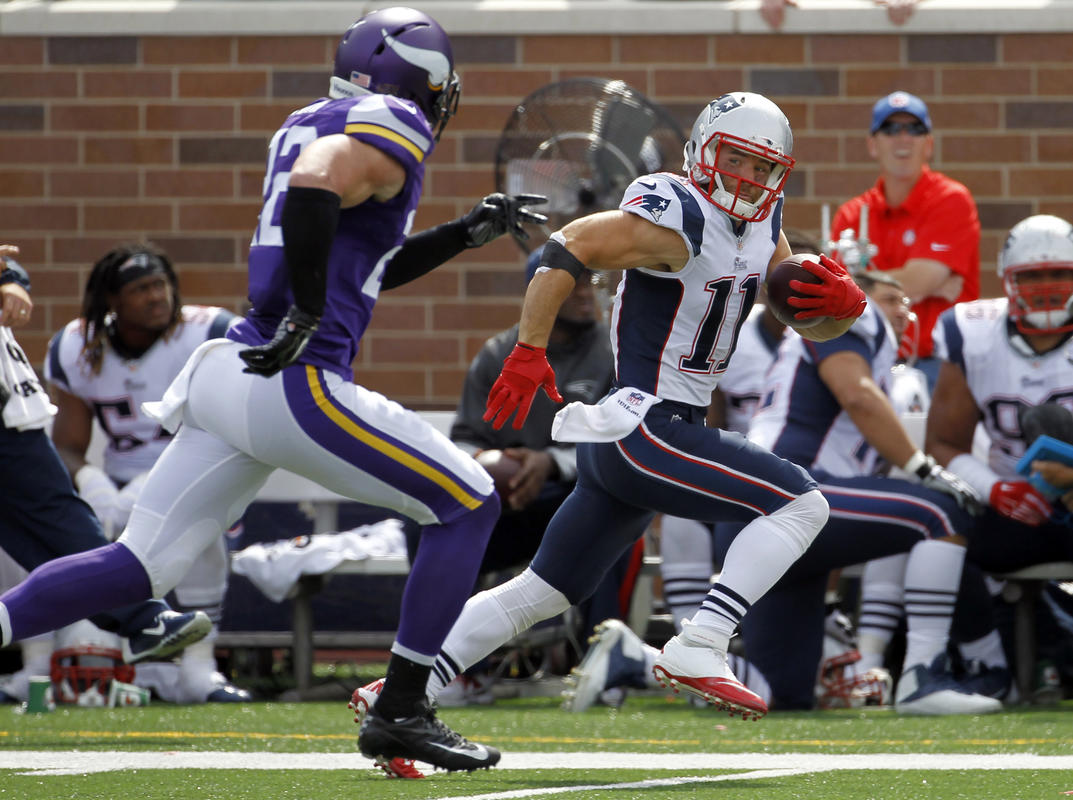 Julian Edelman, Harrison Smith