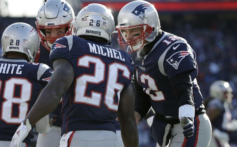 Balanced Pats bolt past theChargers!