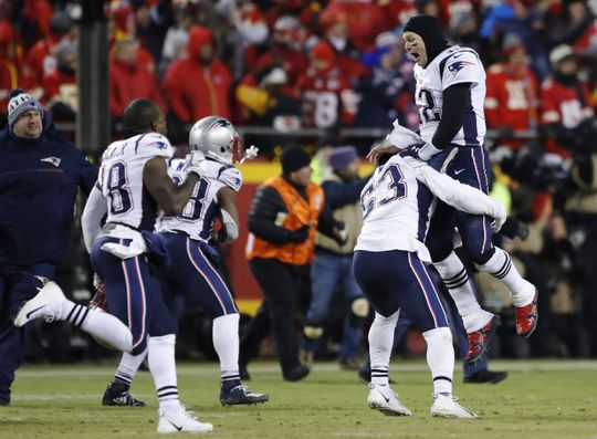 The Pats march past the Chiefs in OT to advance to Super BowlLIII!