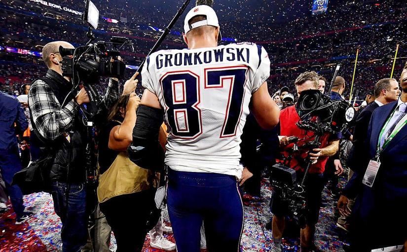 Goodbye Gronk!