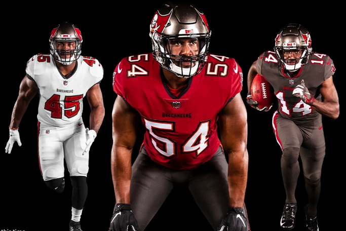 buccaneers new unis
