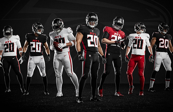 falcons new unis